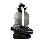 In Ground Sand Filter System